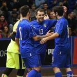 Manfroi con la maglia numero 13 dell'Italia