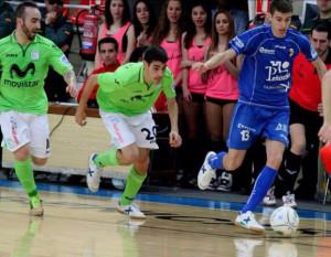 David Asensio Palacios con la palla