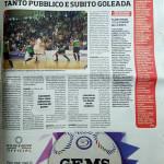Articolo Pesaro su Corriere dello Sport
