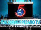 ItalserviceTv, stasera alle 23.25 su E'TV Marche le immagini di Pesaro-Napoli