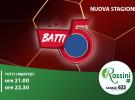 Questa sera su Rossini Tv c'è Batti5: alle 21 con Caputo e Juanba (canale 633)