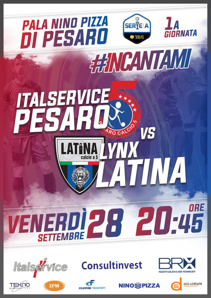 Italservice Pesaro-Lynx Latina