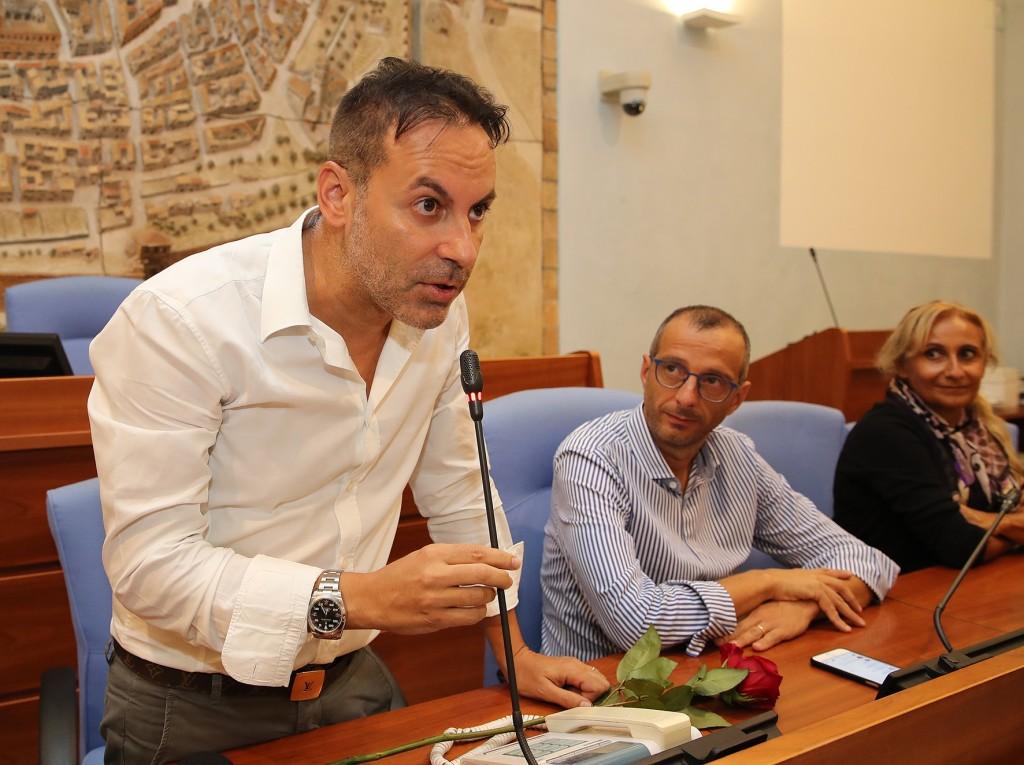 Pesaro,inaugurazione pala pizza