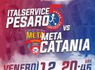 Domani l'Italservice ospita Catania: alle 20.45 tutti al Pala Nino Pizza (ore 20.45)