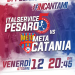 3 Italservice Pesaro-Meta Catania locandina