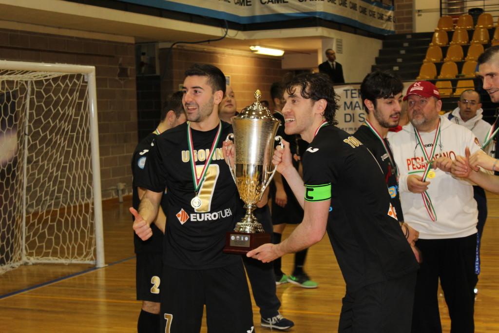 Ugolini e Tonidandel con la Coppa