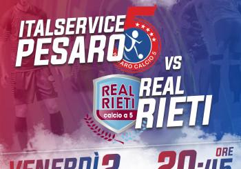 Big match da urlo: alle 20.45 c'è Italservice Pesaro-Real Rieti