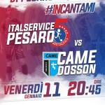 13 Italservice Pesaro-Came Dosson locandina