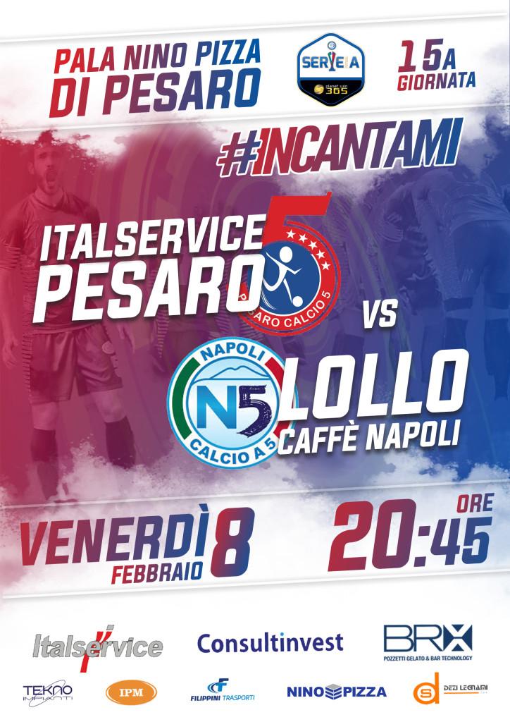 15 Italservice Pesaro-Lollo Caffè Napoli