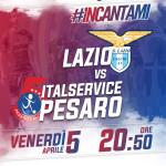 LAZIO-ITALSERVICE PESARO LOCANDINA