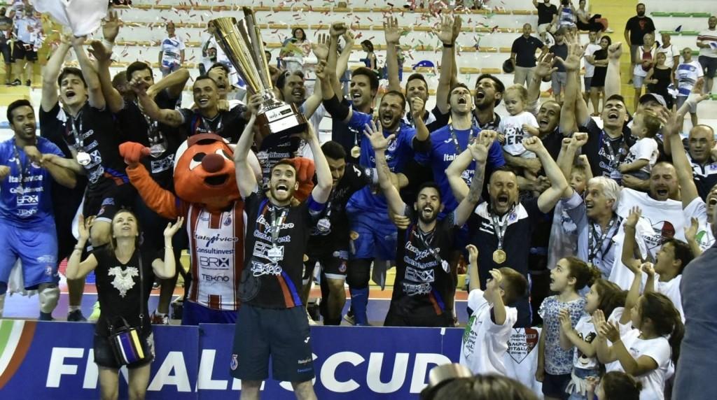 Italservice Pesaro campione d'Italia