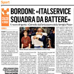 2019-08-06 - Italservice Pesaro, intervista Bordoni