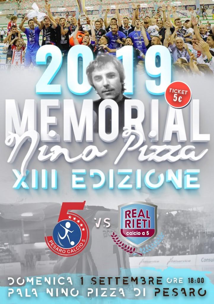 Memorial Nino Pizza 2019 - locandina