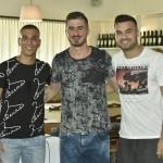 da sx, Carducci, Gava e De Oliveira