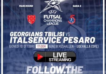 Champions League, ore 17.00 Georgians Tbilisi-Italservice Pesaro: DIRETTA STREAMING QUI