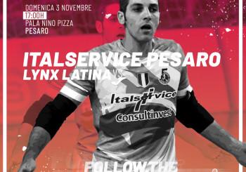 Italservice-Lynx Latina si giocherà domenica 3 novembre alle ore 17.00