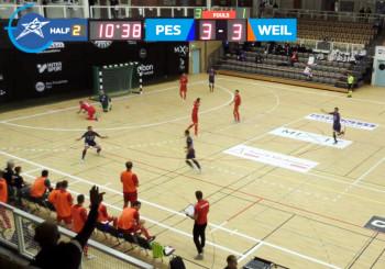 Champions, l'Italservice soffre ma batte 5 a 3 il Weilimdorf. Nel finale decisivi Taborda e Canal