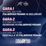programma gare Champions League