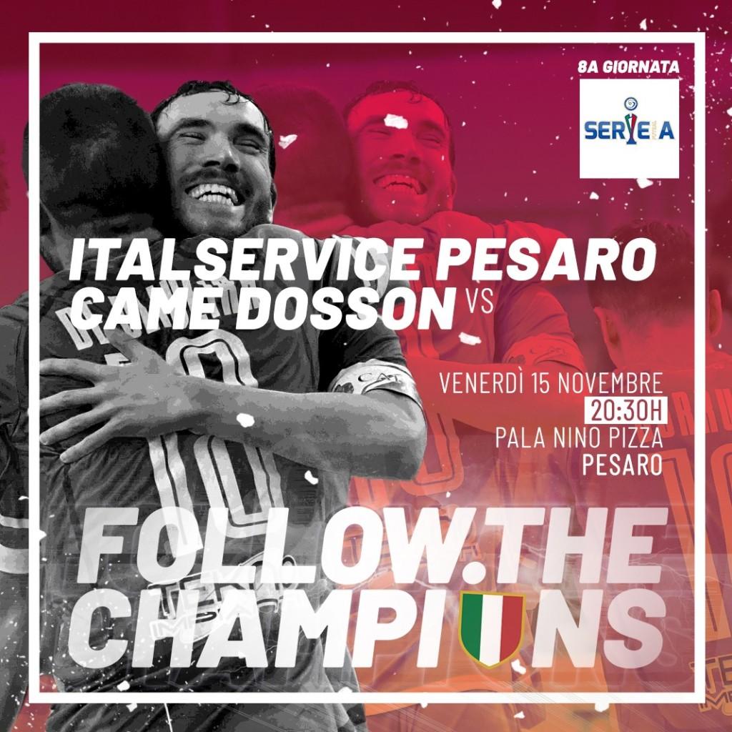 2019_11_15 Italservice Pesaro-Came Dosson