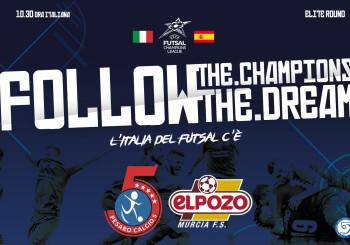Alle 10.30 tutti davanti al monitor: Italservice-El Pozo vale la semifinale di Champions (DIRETTA STREAMING!)