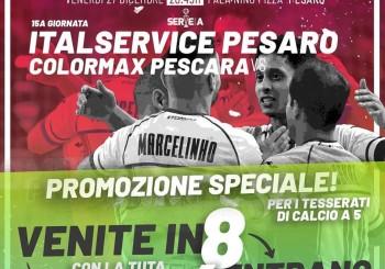 Ultima di andata: stasera al Pala Pizza c'è Italservice-Pescara