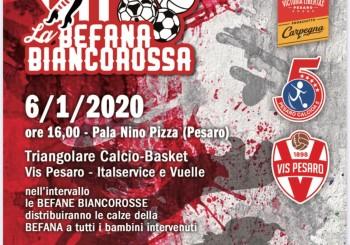 Domani via il velo all'attesissima 'Befana Biancorossa': appuntamento alle ore 12 presso la Sala Rossa del Comune di Pesaro