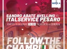 L'Italservice non si ferma mai: domani sera il recupero con la Sandro Abate (diretta alle ore 20,30 su Rai Sport, canali 57 e 58 in HD)