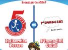 La solidarietà scende in campo: domani alle 17 amichevole tra Italservice e i clowndottori di T'immagini Onlus