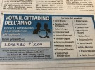 Pesarese dell'anno: in lizza anche il nostro presidente Lorenzo Pizza