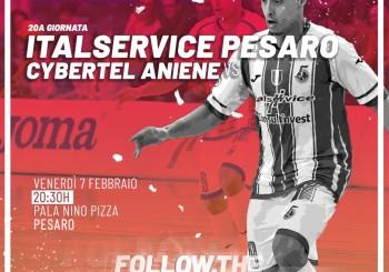 Ripartire al meglio per non fermarsi più: domani, al Pala Pizza c'è Italservice-Aniene (ore 20,30)