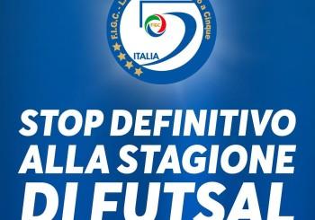 Ufficiale: stop definitivo alla stagione di futsal e ai campionati LND