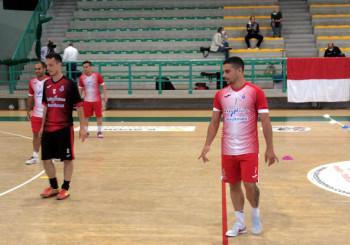 L'Italservice Pesaro in campo per gli allenamenti