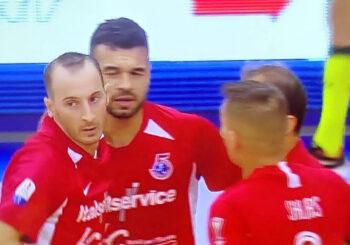 Italservice Pesaro bella e vincente: successo a Pescara 6 a 1