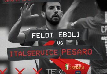 Missione riscatto: domani alle 20.30, c'è Feldi Eboli-Italservice (diretta facebook su PMGsport futsal e Rossini Tv)
