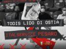 """Domani c'è Todis-Italservice (ore 18). Taborda avverte: """"Nessuno regala niente, noi dobbiamo giocare come sappiamo"""""""