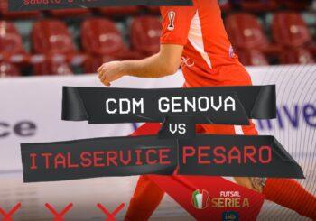 """Pronti? Si riparte! Domani c'è CDM Genova-Italservice (ore 17). Pizza: """"Massima attenzione"""""""