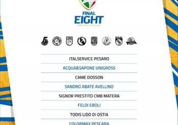 Coppa Italia: ecco i verdetti. Con chi giocherà l'Italservice  a Rimini dal 22 al 25 aprile?