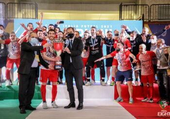 Fame, classe e un CUORE grande così: l'Italservice Pesaro vince la Coppa Italia! Battuta 5-3 la Feldi