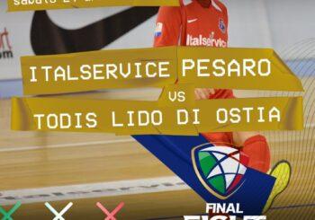 Final Eight, domani semifinale col Todis in diretta Rai Sport (ore 16)