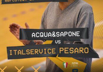 """Coppa in bacheca, a tutta Serie A: domani visita all'Acqua&Sapone (ore 20). Miarelli: """"Obiettivo primo posto"""""""