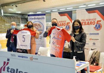 Italservice Pesaro e Banca Mediolanum: matrimonio celebrato. Svelate anche le nuove maglie per le Finals!