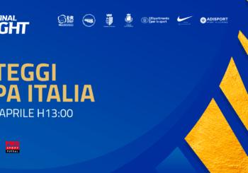 Coppa Italia, Final Eight: domani alle 13 i sorteggi in diretta streaming