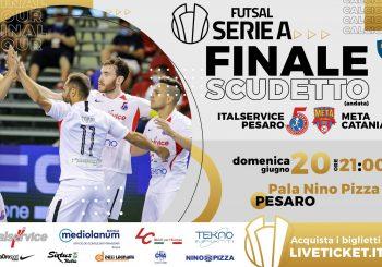 Finale scudetto, ci siamo: domani c'è l'andata con la Meta Catania. Ore 21 e diretta Rai Sport
