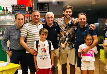 Carlos Espindola è arrivato in Italia: il portiere a cena con la dirigenza e alcuni tifosi!