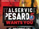 Italservice Pesaro wants you: sì, proprio te! Tutte le info sui raduni del 6 e 27 agosto per i nati fra il 2002 e il 2017